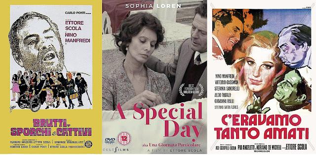 Filmes de Ettore Scola ambientados em Roma