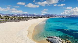 Μία από τις καλύτερες και με πολλές διακρίσεις παραλία βρίσκεται στη Νάξο