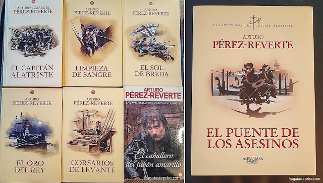 As aventuras do Capitão Alatriste, Arturo Pérez-Reverte