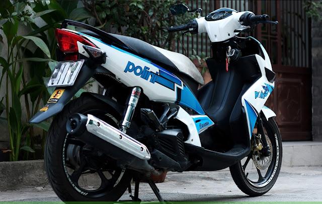 Mẫu xe máy Nouvo sơn tem đấu Polini cực đẹp
