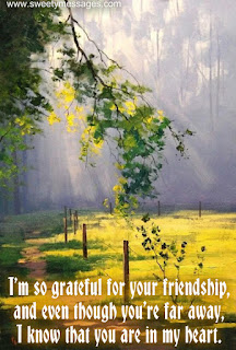 cute friendship messages on image