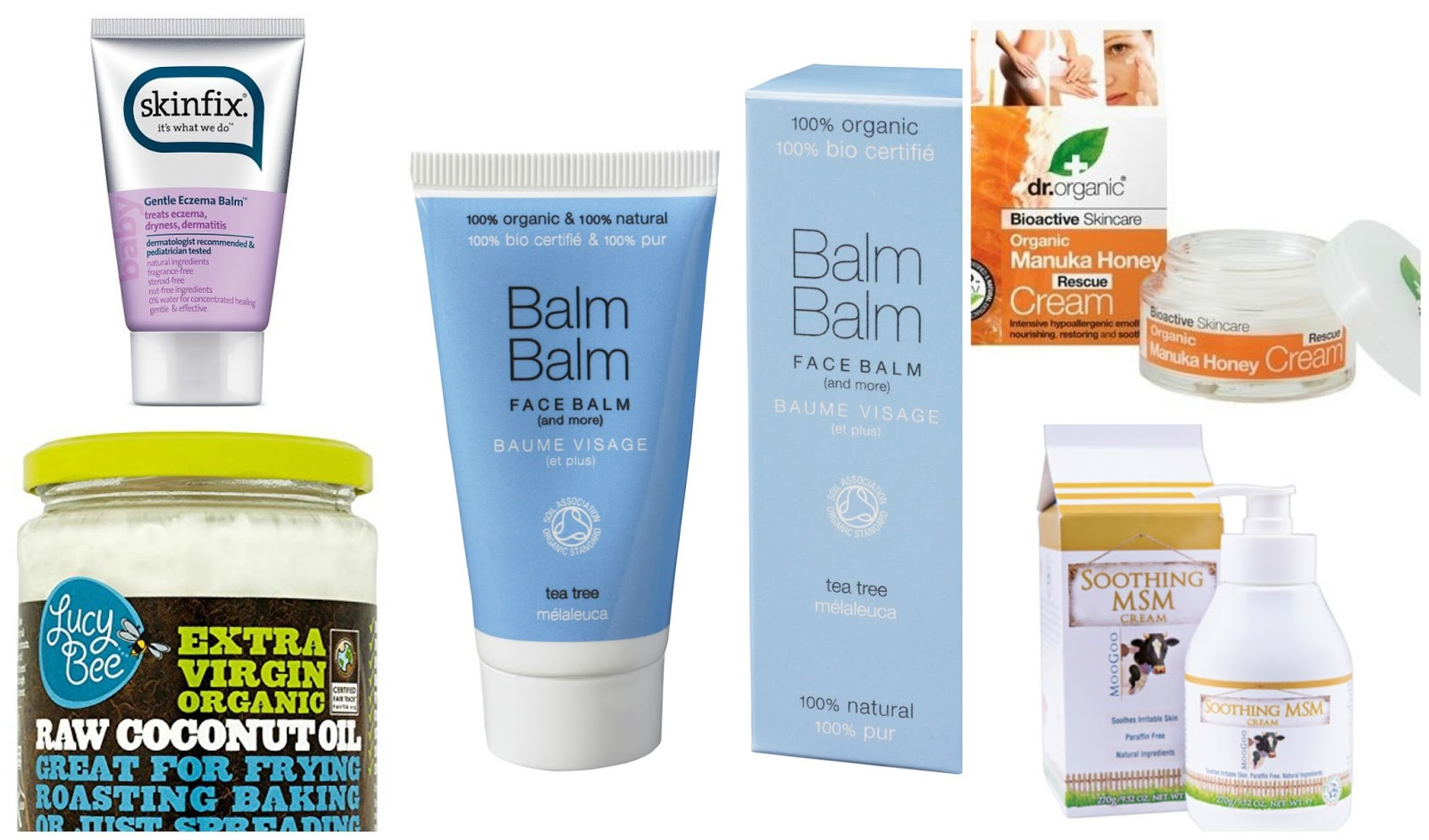 A useful guide on the top natural eczema creams to help soothe and reduce eczema flare-ups