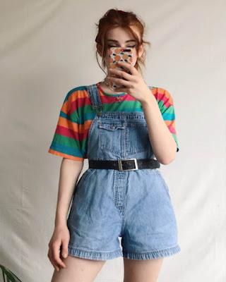 outfit vintage casual juvenil