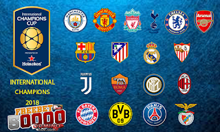 jadwal pertandingan pra musim international champions cup 2018