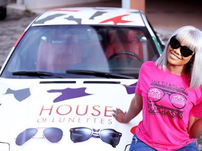 BBNaija's Tacha Becomes The Brand Ambassador Of House Of Lunettes. PHOTOS