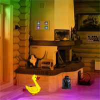 8bGames Wooden Duck House Escape