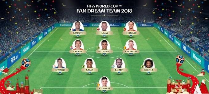 Fifa divulga seleção da Copa com Coutinho, Thiago Silva e Marcelo