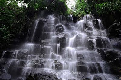 Air Terjun Kanto Lampo Terlihat menyegarkan - Backpacker Manyar