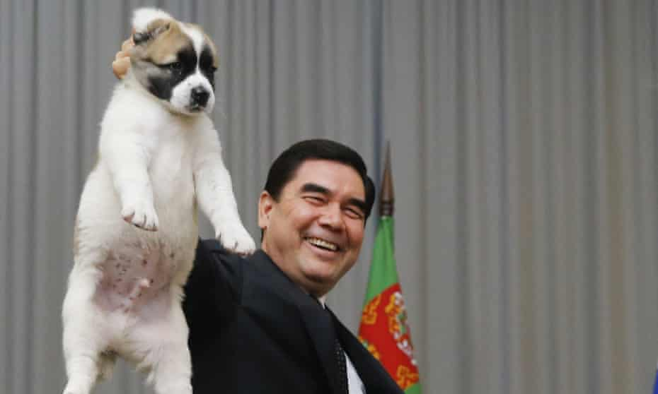 Gurban Berdymukhamedov, President of Turkmenistan, declares a new public holiday in honor of his favorite breed of Alabai dogs