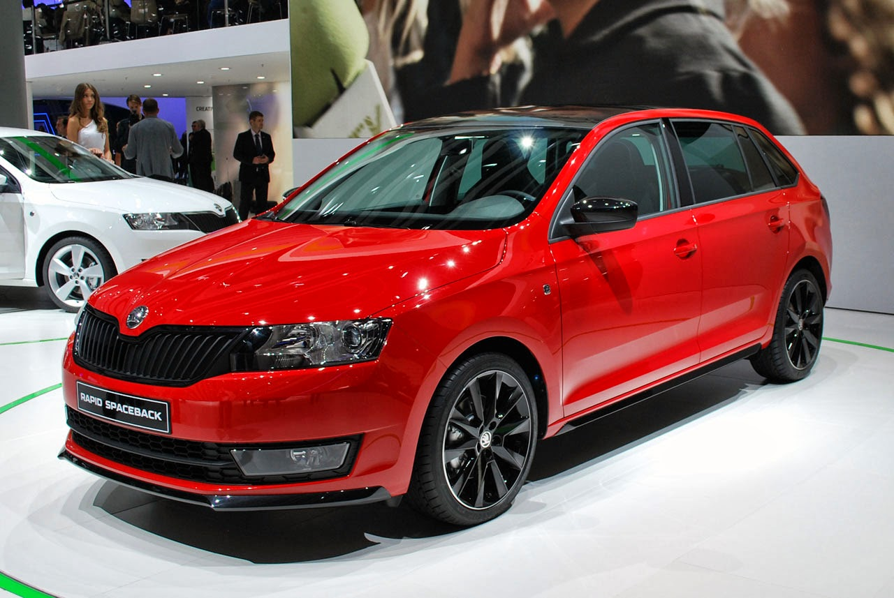 automotiveblogz 2014 skoda rapid spaceback frankfurt 2013 photos. Black Bedroom Furniture Sets. Home Design Ideas