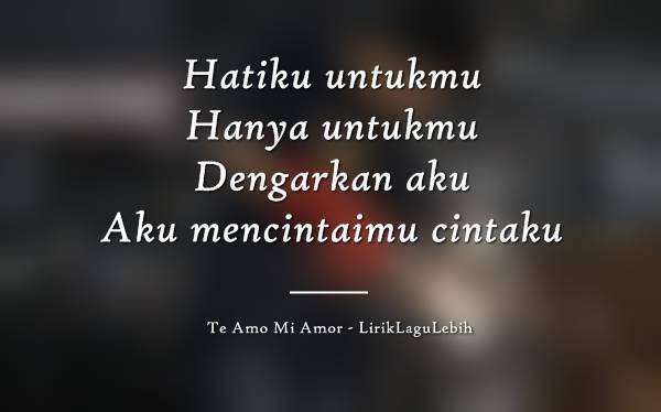 Te Amo Mi Amor - Ajay IDEAZ