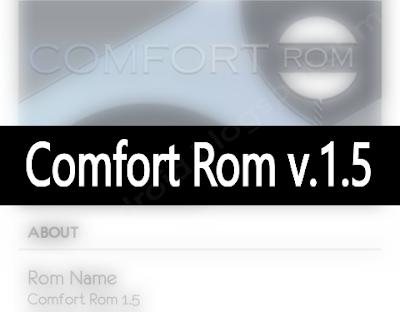 Rom ComfortRom v.1.5 untuk Cross a88 mt6589 - catatandroid