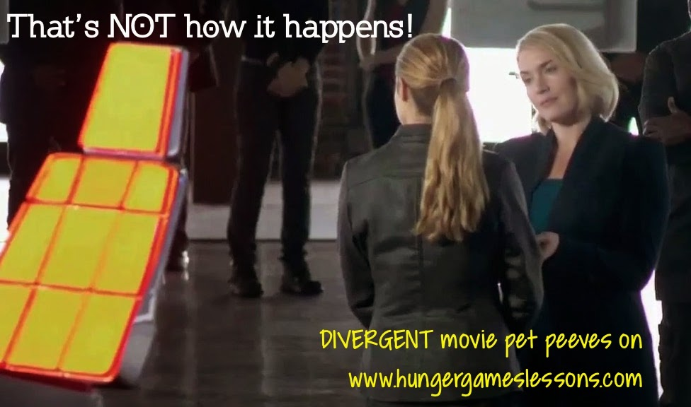 That's not how it happens! -Click for Divergent movie pet peeves