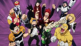 ヒロアカ 1年A組 | 僕のヒーローアカデミア アニメ5期 | My Hero Academia Class 1-A | Hello Anime !