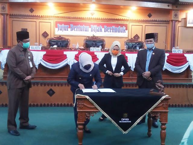 APBD P Tanjungpinang 2020 Disahkan, Berikut Harapan Rahma Untuk SKPD