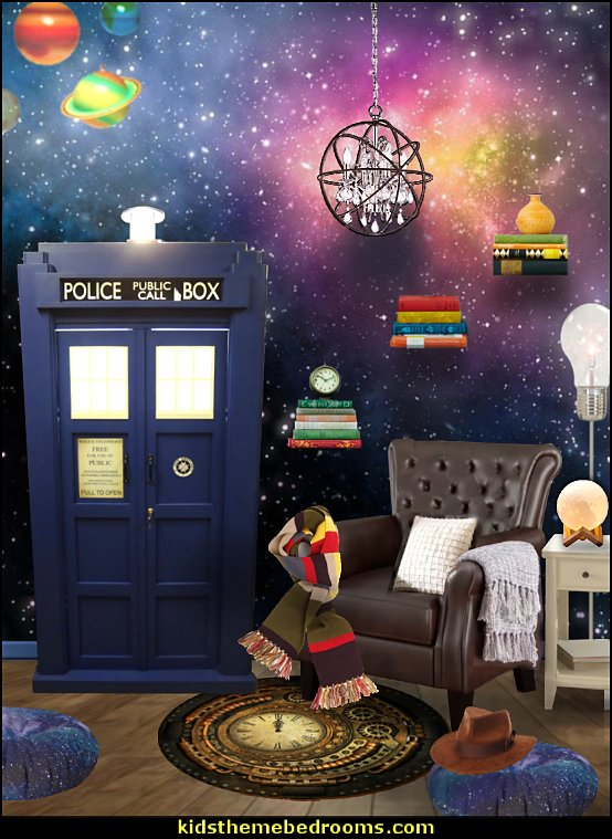 dr who library  Doctor Who bedroom - Doctor Who themed bedroom ideas - decorating Doctor Who theme -  Doctor Who decor - Doctor Who Bedding - dr who bedroom ideas - Dr Who Tardis - doctor who
