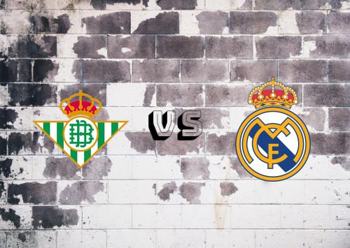 Real Betis vs Real Madrid  Resumen y Partido Completo