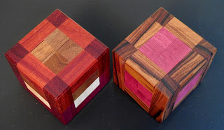 Split Cube 2 Puzzles by Andrew Crowell