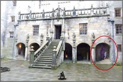 Chillingham Castle Ghost