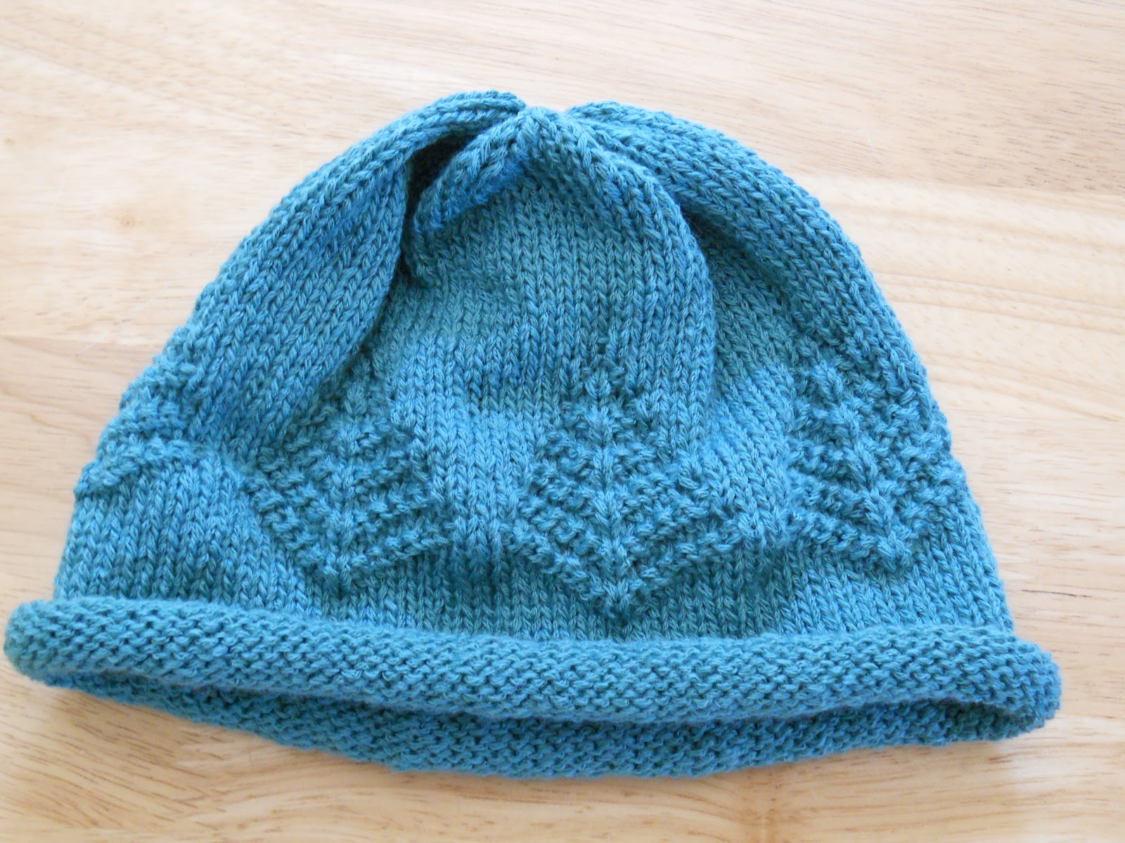 Knitted Chemo Hat Patterns Simple Design