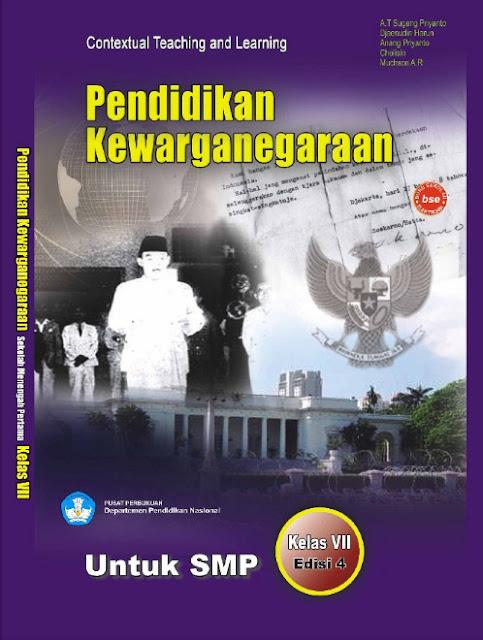 Download Buku Siswa KTSP SMP dan MTs Kelas 7 Pendidikan Kewarganegaraan