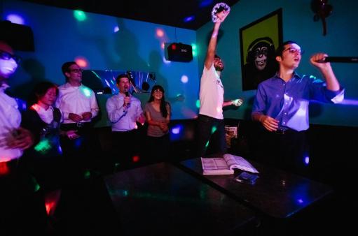 Zufam Karaoke,Queen Karaoke Duri,KING Karaoke,De Arcia Restaurant Lounge Karaoke,VIP Billiard & Karaoke,Piramida Cafe & Karaoke,Han's Cafe & Karaoke
