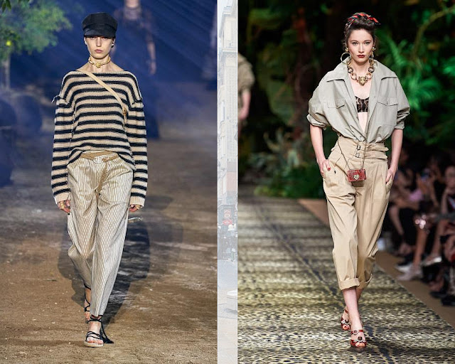 Модные брюки весна-лето 2020 14-1