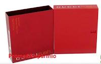 Logo Gioca e vinci gratis il profumo Equivalente a Gucci Rush