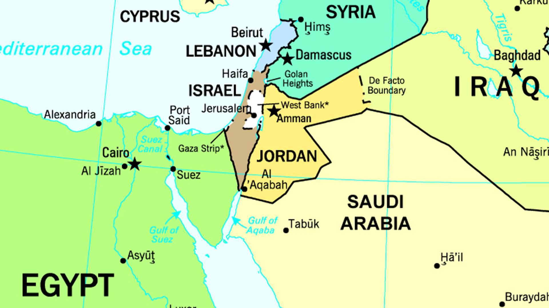 Cartina Israele Giordania.La Crisi In Giordania A Rischio Un Oasi Di Pace Nel Caos Del Medio Oriente