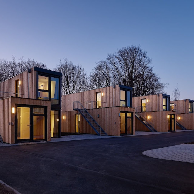 Shipping Container Tiny Homes Village, Germany 8