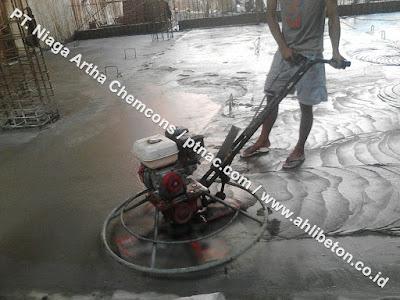 Proses Pengerjaan Floorhardener