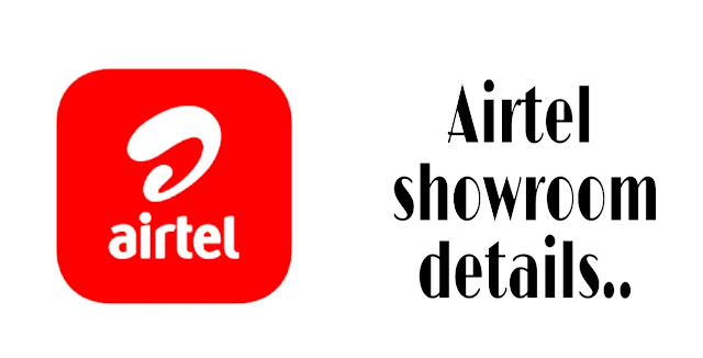 Airtel showroom details