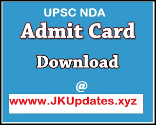 Tags :- Download UPSC NDA Admit Card 2020, upsc nda admit card 2020 download, upsc nda admit card 2020 download, upsc nda admit card online download