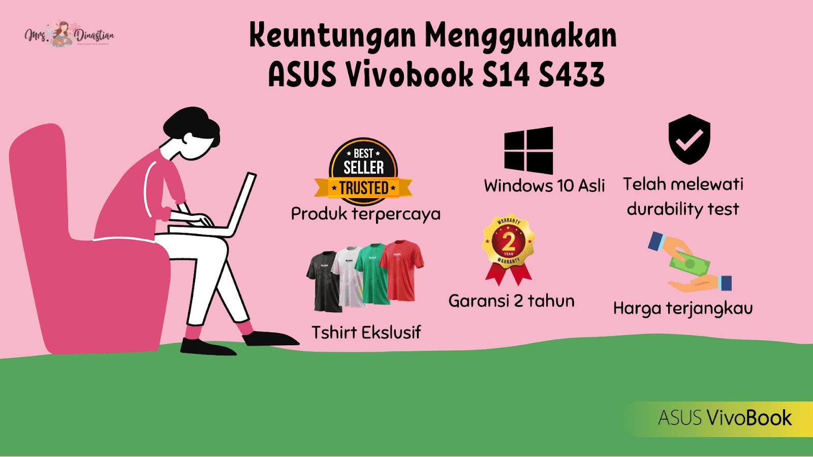 Keuntungan Menggunakan ASUS Vivobook S14 S433