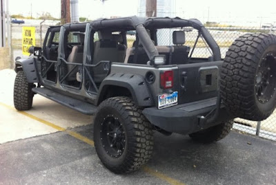 Jeep Wrangler JK Scretched 6 Doors