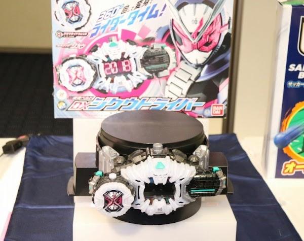 Ziku Driver Dan Dx Khisiryu-Oh Memenangkan Penghargaan Di Japan Toy Award 2019