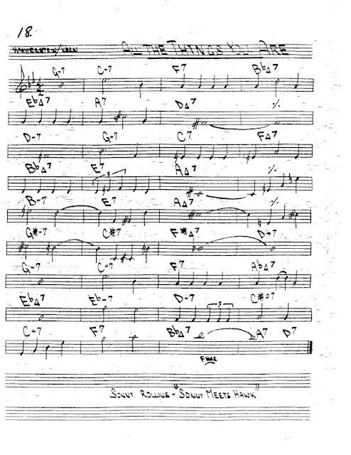 Partitura Trompeta Kern and Hammerstein