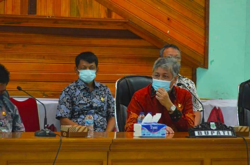 Bupati Pinrang Lakukan Pertemuan dengan Kepala Sekolah