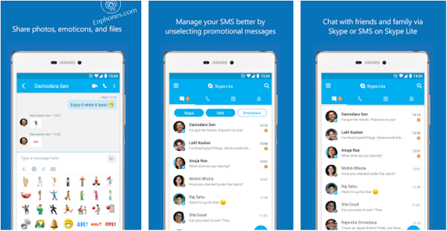 Download new Skype Lite apk app for android