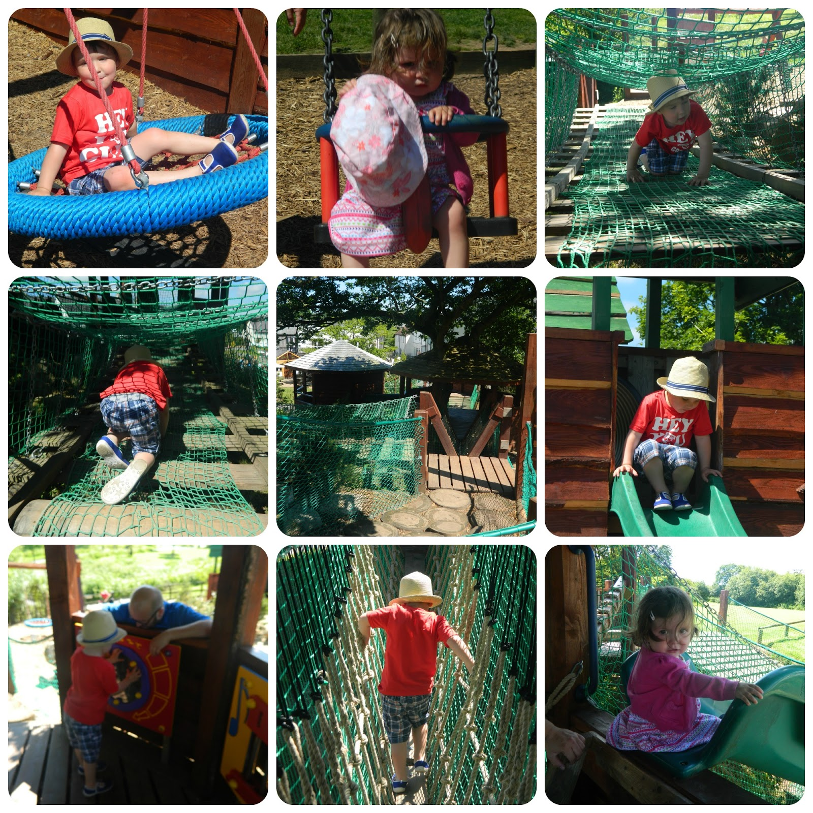 Fun at Tree Tots, Bluestone Wales