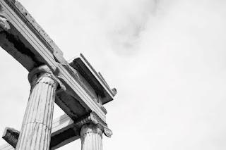 Corner of the Acropoplis - Photo by Cristina Gottardi on Unsplash