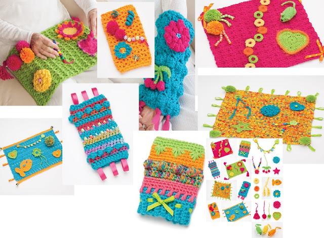 Crochet Patterns for Fiddle Mats, Crochet Fiddle Muffs, and Crochet Fiddle Cuffs