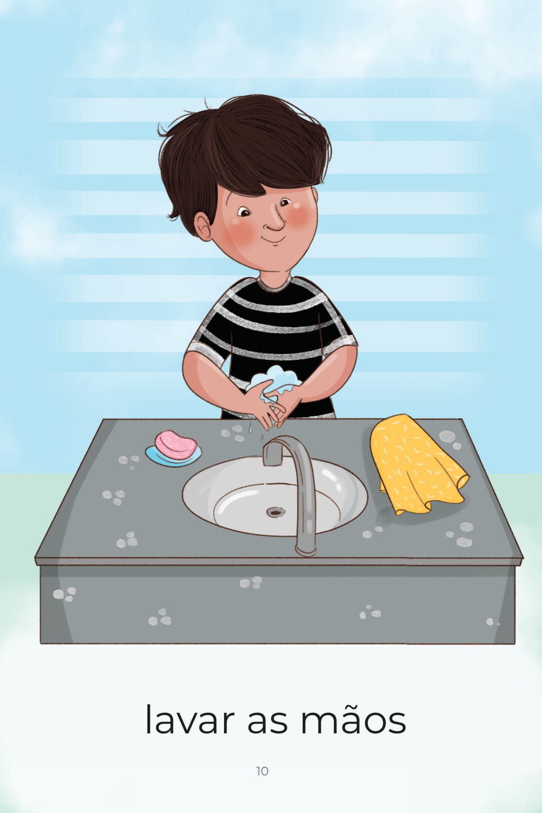 Atividades do Dia a Dia Lavar As Mãos