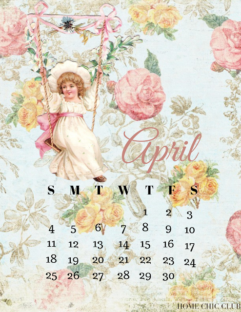 April 2021 Free Printable Calendar