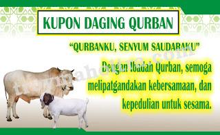 Contoh Kupon Daging Qurban