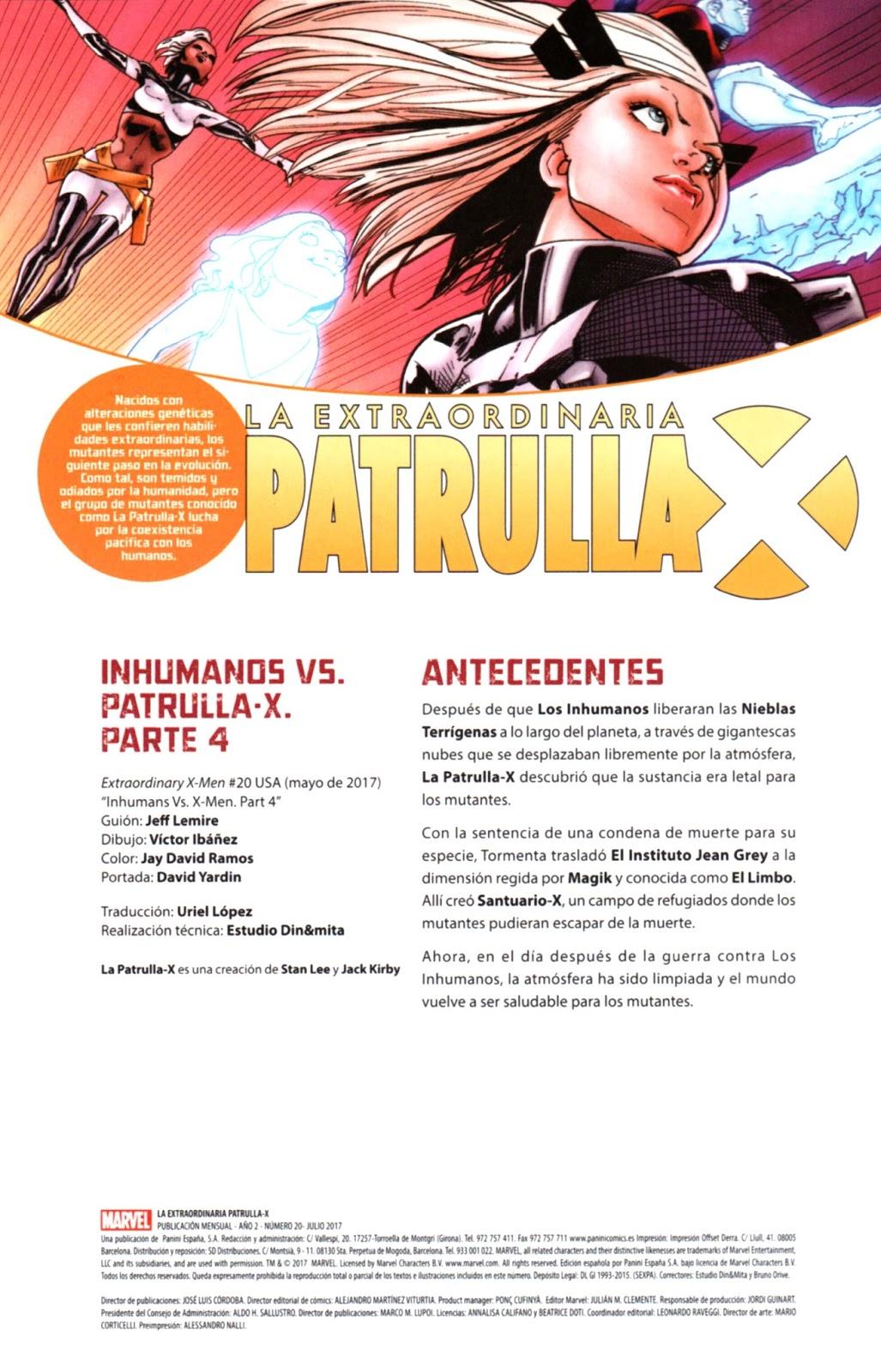 Galicia Comic: Extraordinary X-Men 20