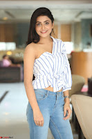Avantika Mishra in One Shoulder Crop Top and Denim Jeggings ~  Exclusive 063.JPG