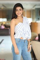 Avantika Mishra in One Shoulder Crop Top and Denim Jeggings ~  Exclusive 063.JPG