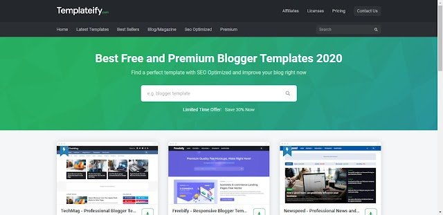 Free Premium Blogger Templates For Free | Download Premium Blogger Templates For Free