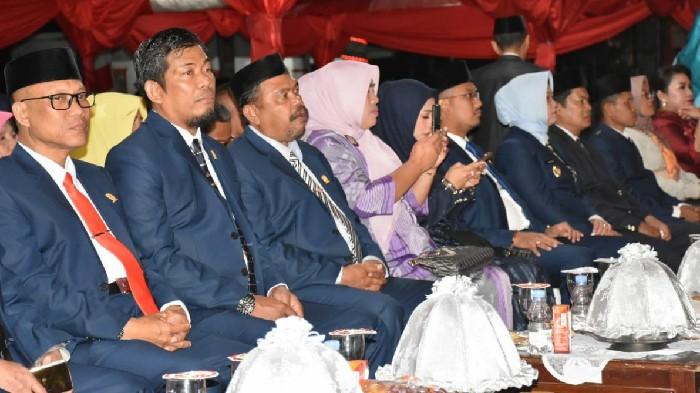Malam Resepsi Kenegaraan RI ke-74 Dihadiri Pimpinan DPRD Sinjai